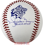 Mariano Rivera Autographed Official 1999 World Series Baseball Inscribed 99 WS MVP