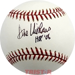 Dave Niehaus Autographed Official Major League Baseball Inscribed HOF 2008