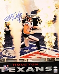 JJ Watt Autographed Houston Texans Flames 16x20 Photo