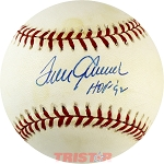 Tom Seaver Autographed National League Baseball Inscribed HOF 92