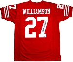 Carlton Williamson Autographed San Francisco 49ers Custom Jersey