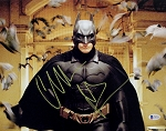 Christian Bale Autographed 'The Dark Knight' Bat Cave Photo