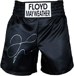 Floyd Mayweather Autographed Custom Boxing Trunks