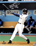 Ken Griffey Jr. Autographed Seattle Mariners Batting 16x20 Photo Inscribed 630 & HOF 16