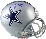 Amari Cooper Autographed Dallas Cowboys Authentic Full Size Helmet