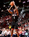Gary Clark Autographed Houston Rockets 8x10 Photo