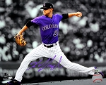 Kyle Freeland Autographed Colorado Rockies 8x10 Photo