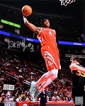 Danuel House Autographed Houston Rockets 8x10 Photo