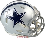 Jaylon Smith Autographed Dallas Cowboys Replica Mini Helmet