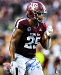 Tyrel Dodson Autographed Texas A&M Aggies 8x10 Photo