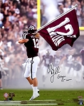 Cullen Gillaspia Autographed Texas A&M Aggies 16x20 Photo Inscribed 12th Man