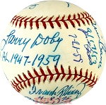 First African American MLB Players Autographed Baseball - Banks, Doby, Irvin & More