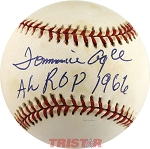 Tommie Agee Autographed Official AL Baseball Inscribed AL ROY 1966