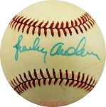 Sparky Anderson Autographed Vintage Rawlings NL Baseball
