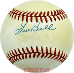 Gus Bell Autographed Official National League Baseball