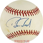 Barry Bonds Autographed Official National League Baseball