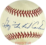 Gary Carter Autographed Official National League Baseball Inscribed The Kid