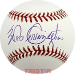 Wes Covington Autographed Official Major League Baseball
