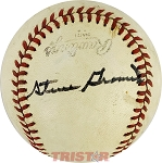 Steve Gromek Autographed Official League Baseball