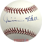 Jimmie Hall Autographed Official Major League Baseball