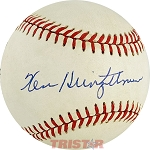 Ken Heintzelman Autographed National League Baseball