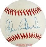 Elrod Hendricks Autographed Official American League Baseball