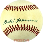Babe Herman Autographed Official National League Baseball