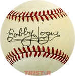 Bobby Hogue Autographed Official National League Baseball