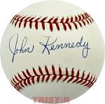 John Kennedy Autographed Official National League Baseball