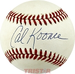 Cal Koonce Autographed Official National League Baseball