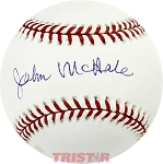 John McHale Autographed Official Major League Baseball
