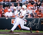 Kacy Clemens Autographed University of Texas Longhorns 8x10 Photo