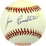 Jim Pendleton Autographed Official National League Baseball