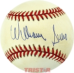 William Suero Autographed Official American League Baseball