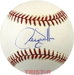 Larry Walker Autographed Official National League Baseball