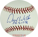 David Wells Autographed Official Major League Baseball Inscribed PG 5-17-98