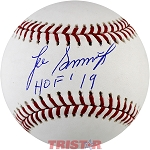 Lee Smith Autographed Official Baseball Inscribed HOF 19