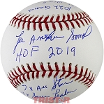 Lee Smith Autographed Official Baseball Inscribed with Stats Limited Edition 1/8