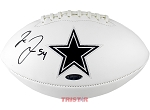 Jaylon Smith Autographed Dallas Cowboys Logo Football