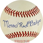 Morris 'Red' Badgro Autographed Official American League Baseball