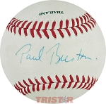 Paul Beeston Autographed Pro League Baseball