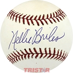 Nellie Briles Autographed Official Major League Baseball