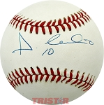 Andujar Cedeno Autographed Official National League Baseball