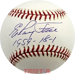 Elroy Face Autographed Official Major League Baseball Inscribed 1959 18-1