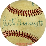 Bart Giamatti and Pete Rose Autographed Official NL Baseball