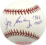 Joe Ginsberg Autographed Official Major League Baseball Inscribed 1962 Mets