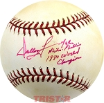 Dallas Green Autographed Official ML Baseball Inscribed MGR Phila. Phillies 1980 Champions