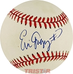 Eric Gregg Autographed Official National League Baseball