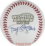Ricky Gutierrez Autographed 2004 World Series Baseball
