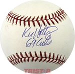 Ken Holtzman Autographed Official ML Baseball Inscribed 69 Cubs